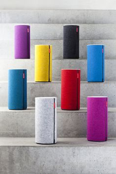 Libratone Zipp portable speakers in rainbow hues