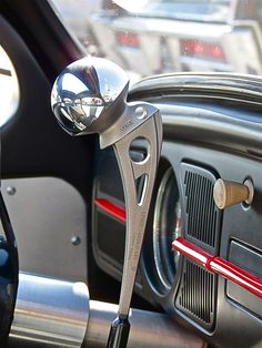 Beetle Rat Rod, Titanium Hip Shifter