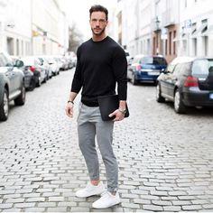 Look casual com pegada esportiva | @moda.homem | #modamasculina #modaparahomens #men #mens #menstyle #mensfashion #streetfashion #streetstyle #stylish #style #itboy