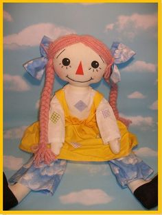Patches Rag Doll Sewing Pattern