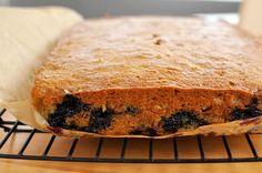 Recipe: Blueberry Banana Cake with Cream Cheese Icing
