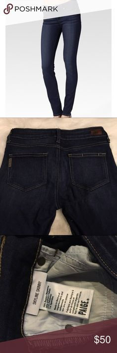 Paige Premium Denim Paige Premium Denim. Worn twice and only hand washed in cold water. EUC. No signs of wear. 30 inch inseam. Paige Jeans Jeans Skinny