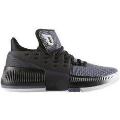 4668ede49 adidas Dame 3 Shoe Juniors Basketball 4 WhiteCore BlackOnix     Amazon most  trusted e-retailer  AdidasFashion