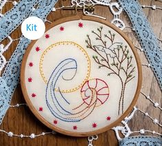 Embroidery KIT  Embroidery pattern  embroidery by Fileusedetoiles