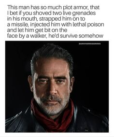 "POSSIBLE!! #thewalkingdead #twd The Walking Dead Meme Page (@badfatherrickgrimes) on Instagram: ""I know he's supposed to survive because he plays a large role in the comics after the war but can't…"""