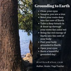 Grounding your chakras to Earth's energy. A quick visualization to ground and balance your energy using the red energy of Earth. Root Chakra balancing tip from Alethea Kehas @ Inner Truth Healin Grounding Meditation, Earthing Grounding, Chakra Meditation, Mindfulness Meditation, Grounding Crystals, Grounding Exercises, Red Energy, Forest Bathing, Pranayama