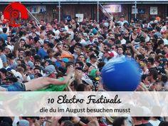 10 Festivals, die du im August besuchen musst #rave #festivals #creamfields #natureone #utopiaisalnd #festivaloutfit #party #edm #electro #sonnemondsterne #mysteryland