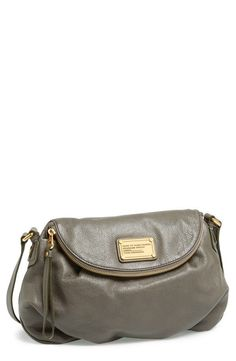 MARC BY MARC JACOBS Classic Q Natasha Crossbody Bag grey Faded Aluminum