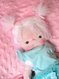 Louisa a One of a Kind Soft Sculpture Baby by bebebabiesmexico
