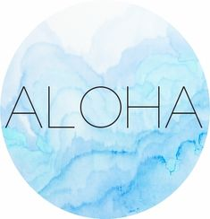Aloha graphics. Some inspiration for Wednesday | The Copycat Followed You