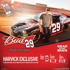 Budweiser & NASCAR Driver Kevin Harvick Launch Mobile Interactive Bud Blippar Augmented Reality App