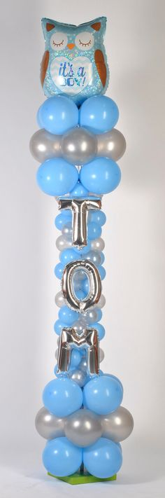 Balloon decoration for baby shower #sempertexeurope #sempertex #balloons