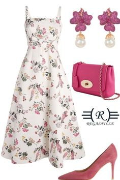White and Pink summer look for 2021 Pink Summer, Summer Looks, Design Your Own, Gorgeous Dress, Outfits, Dresses, Style, Vestidos, Swag
