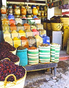 I could spend days in the Cairo market!