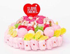 #tarta #cumpleaños #niñas #ilovechuches