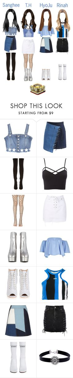 """《Goodbye Stage》T.O.P (티오피) - Give Me"" by topofficial ❤ liked on Polyvore featuring Chicwish, Nicholas Kirkwood, Charlotte Russe, Leg Avenue, Topshop, Yves Saint Laurent, Giuseppe Zanotti, Off-White, Victoria, Victoria Beckham and Vetements"
