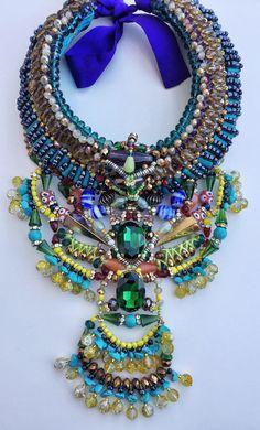 Raya beaded necklace