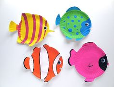 fish art projects for elementary - Google Search