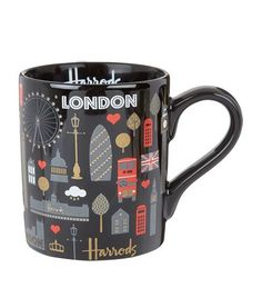 Harrods London Metallic Mug available to buy at Harrods. Shop online and earn…