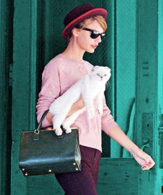 Taylor Swift's latest style BFF is the cat's meow