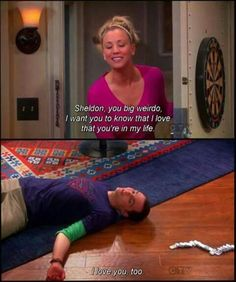 This defines so many of my friendships - TBBT / The Big Bang Theory - Penny and Sheldon Cooper - quote - screencap The Big Theory, Big Bang Theory Funny, Bigbang, The Big Bang Therory, Tbbt, Penny And Sheldon, Leonard Hofstadter, Picture Blog, Dc Memes