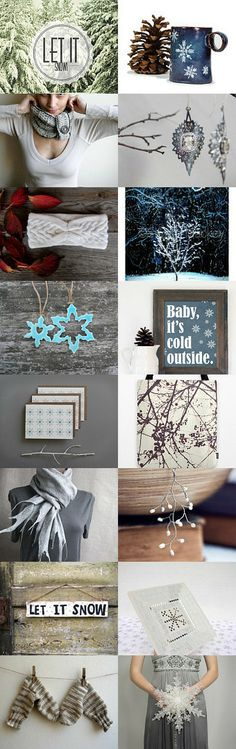 Let it snow by MADA on Etsy