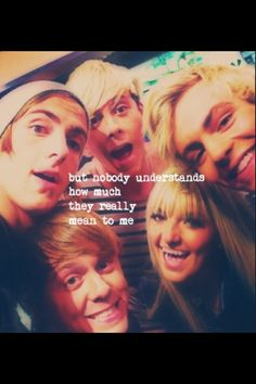 Nobody does... #R5family