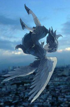 Read Cap from the story //Eres problemática//(aizawa shouta x lectora) by Misheru-Hibari (Misheru) with reads. Anime Wolf, Anime Angel, Fantasy Kunst, Fantasy Art, Animé Fan Art, Ange Demon, Image Manga, Animes Wallpapers, Girl Falling