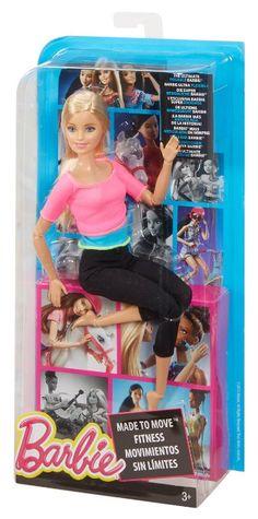 Amazon.com: Barbie para mover la muñeca de Barbie, Blue Top: Juguetes y juegos