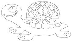 Cut Animals, Kirigami, Flocking, Kids Rugs, Home Decor, Tortoises, Drawings, Cut Outs, Animales