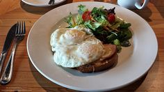 Croque Madame from The Flying Pig in Olympic Village, Vancouver