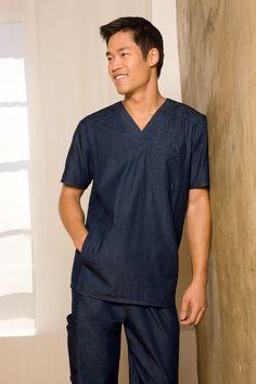 Denim Designs by Dickies! #Dickies #Scrubs #Nurse #men #male