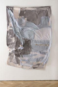 A Made-Up Romantic Year, 2014 Isabel Yellin Mixed fabrics, acrylic, tape