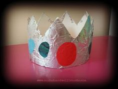 Cereal box crowns.