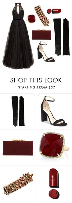 """""""NYE"""" by sgeoghegan on Polyvore featuring Lauren Ralph Lauren, Vince Camuto, Jimmy Choo, Anne Sisteron, Hobé and Jenny Packham"""