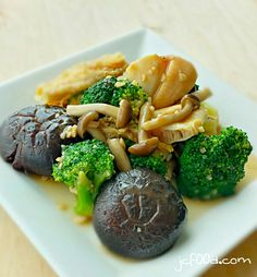 Stir Fry Mushroom and Broccoli