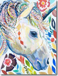 'U for Unicorn' by Starla Michelle Halfmann ♥༺❤༻♥