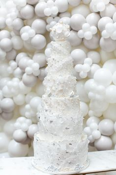 White Glimmer Strands /& Peals Mix Cupcake Decorations christening wedding