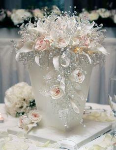 My amazing wedding cake (that even lights up!)
