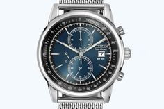 2 - Citizen CA0331-56L Men's Eco-Drive Chronograph