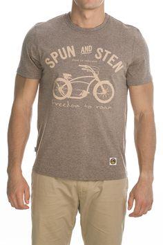 T-shirt Basman; light brown.