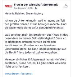 Dreamfactory bei Frauen in der Wirtschaft WKO 👍👍👍 www.dream-factory.at #WKO #FraueninderWirtschaft #dreamfactory #nachhaltig #ausderregion #mitherz #echtsteirisch