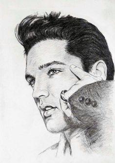 Elvis-art by Ewa Stepien