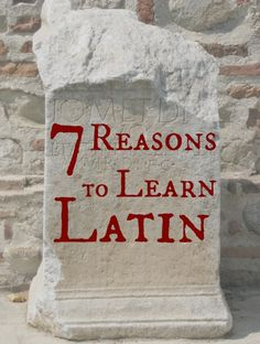 People ask my all the time why Latin is even worth taking. The truth is that there are TOO MANY REASONS for me to explain them yo you. But here are 7 Reasons to Learn Latin.
