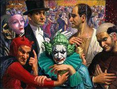 Otto Griebel, Circus