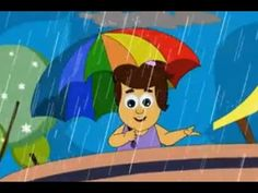 ▶ Rain, Rain, Go Away - YouTube (change some of the animals and their names in order to incorporate sign language and ensure all names start with the same letter as the animal)