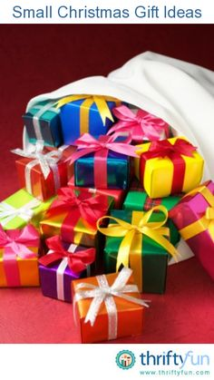 Small christmas gifts on pinterest christmas gift bags for Customer holiday gift ideas
