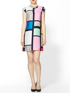 Claudette Dress- Couldn't this be considering a school supply??? I NEED IT for teaching Mondrian!!!