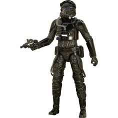 Star Wars First Order TIE Fighter Pilot Black Series Action Figur