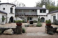 General views of Reese Witherspoon's 7 million dollar house in Ojai CA.  Reese and fiancee Jim Toth are to marry at the sprawling estate on ...